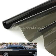 window tint film black 30% <b>50cm</b> x 6m <b>roll</b> 2 ply <b>car auto</b> house ...