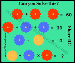 can you solve this simple math equation brain teaser
