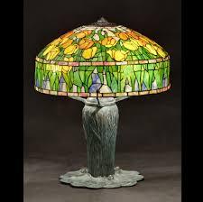 endorsed tulip lamp shades tiffany lampshade with wheat base nicholas wells