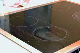 how to clean a glass top stove with all