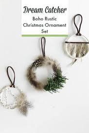 Dream Catcher Christmas Ornament Dream Catcher Boho Rustic Christmas Ornament Set These are 65