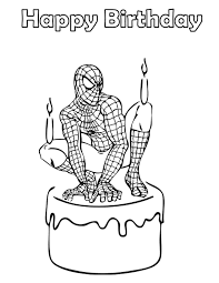 His main ability is to create a web, bind enemies with it and move around the city at high speed. Free Printable Spiderman Coloring Pages For Kids