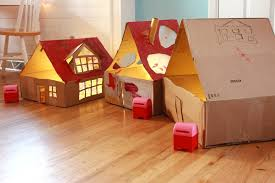 cardboard dollhouses picture