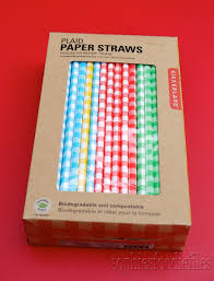 review kikkerland's paper straws  a lovely cocktail to use them