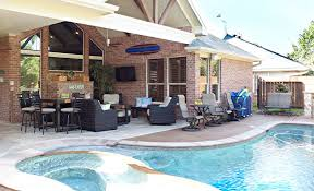 Backyard Designs With Pool And Outdoor Kitchen Cool Outdoor Kitchens Houston Dallas Katy Cinco Ranch Texas Custom