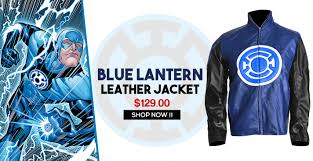 collar stand up collar front design logo embossed on chest side long fitted sleeves highly attractive now here blue lantern jacket