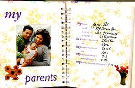 Baby Photo Album Books Sunny Skyes Keepsake Baby Books