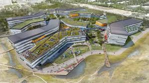 silicon valley office. Google\u0027s Planned Expansion Of The Googleplex, Company\u0027s Mountain View, Calif., Headquarters. NBBJ Silicon Valley Office
