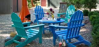 adirondack chairs ottomans
