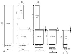 kitchen cabinet door sizes uk standard