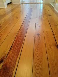 refinished douglas fir flooring circa 1870s