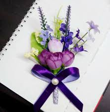 Heb Corsages Corsage Broche Paars