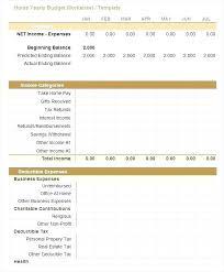 Free Home Budget Worksheet Home Budget Sheet Template