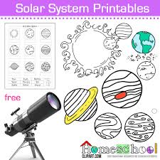 Solar System Coloring Pages -