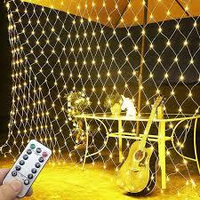 Lichtervorhang Netz Fensterdeko Weihnachten 3m X 2m Lichterketten 198leds Lichterkette Warmweiß Für Weihnachten Party Schlafzimmer Innen Und Außen