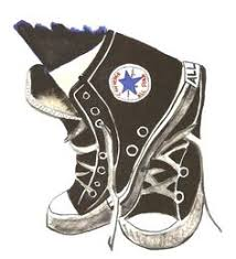 converse shoes clipart. converse chuck taylor high tops clipart shoes