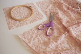 How To Make Lace Dream Catchers