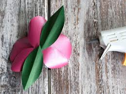 Paper Orchid Flower How To Make Tropical Paper Orchids How Tos Diy