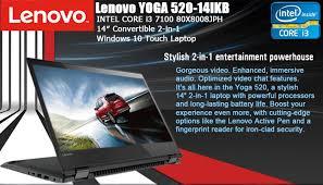 laptop lenovo yoga 520 14ikb