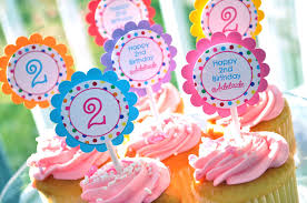 birthday cupcake toppers birthday