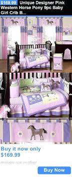 baby girl comforter set baby nursery unique designer pink western horse pony baby girl crib bedding comforter set baby girl beddings sets
