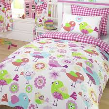 bird owl girls duvet covers various designs available single amp kids timber with drawers paying guest