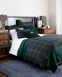 ralph lauren bedroom plaid bedding