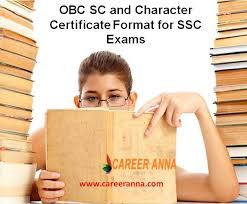 Format For Character Certificate For Students Obc Sc And Character Certificate Format For Ssc Exams Career Anna