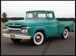 60 Ford...old trucks are totally cool. | Dream Cars | Trucks, Old ...