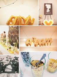 modern wedding decor inspiration gold fancy wedding reception big balloons full
