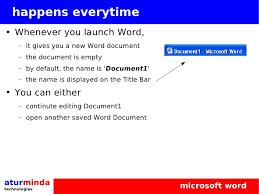 Microsoft Office Word Basics Training