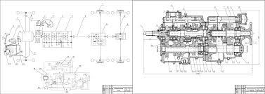 Курсовые и дипломные работы автомобили расчет устройство  Курсовая работа Дизельный автомобиль с колесной формулой 6х4 М 64227