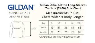 Gildan Ultra Cotton Long Sleeves T Shirts 2400