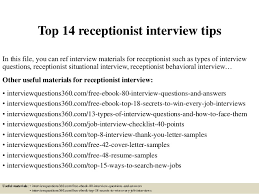 another word for receptionist top 14 receptionist interview tips 1 638 jpg cb 1427559136