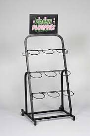Flower Display Stand For Sale Flower Display Racks Flower Stands Store Displays 19