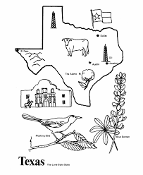 Small Picture USA Printables State of Texas Coloring Pages Texas tradition