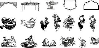 Free Download Clipart Hindu Wedding Clipart Fonts Free Download Clipartxtras
