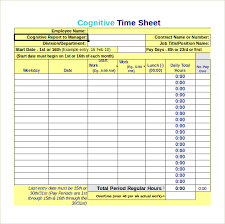 Monthly Timesheet Calculator 10 Free Samples Examples