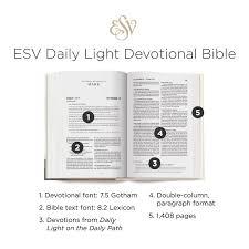Daily Light Devotional Bible