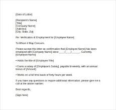 Employment Verification Letter For Immigration The Letter Sample