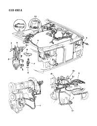 1986 dodge omni wiring engine front end related parts