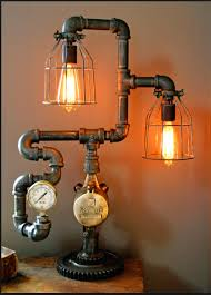 ad interesting pipe lamp design ideas 13