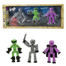 Игрушка <b>Stikbot Off</b> the Grid Raptus 3 фигурки TST614R - лучшая ...