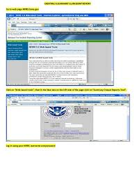 Creating A Summary By Incident Report Go To Web Page
