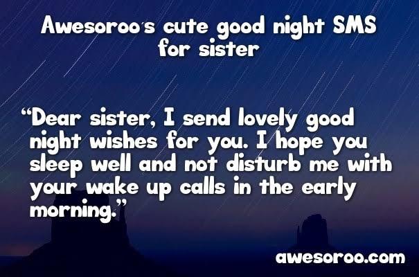 good night shayari in hindi for sister