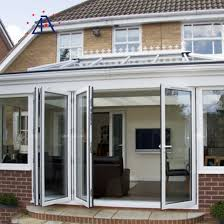 china folding door aluminium bifold doors