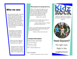 kids on the rock daycare white rock fellowship white rock fellowship barn brochure need daycare page 1