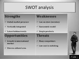 zara swot analysis of zara s market position zara is the main  zara swot