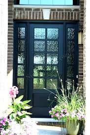 full glass front entry door glass exterior doors glass front door full with sidelights exterior doors