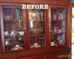 Dish Display Cabinet Tips On How To Arrange A China Cabinet Average But Inspired